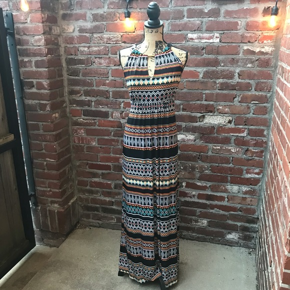 Apt. 9 Dresses & Skirts - Colorful Patterned Maxi Dress